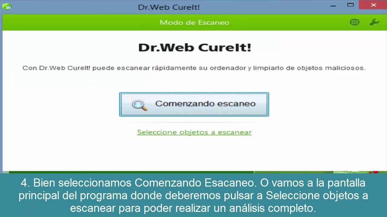 Comprar Dr.Web Antivirus Cureit