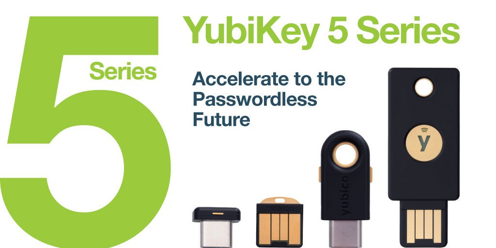 Comprar Yubico 5 series en Antimalwares