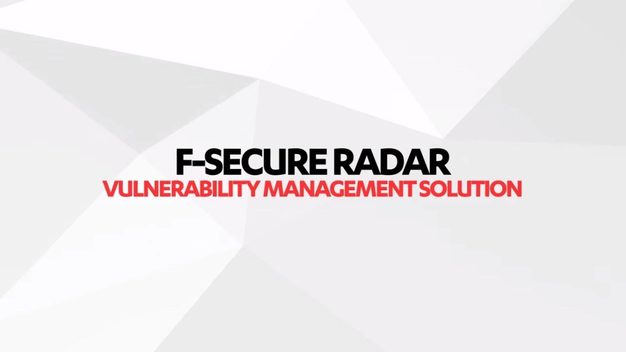 Análisis de vulnerabilidades con F-Secure