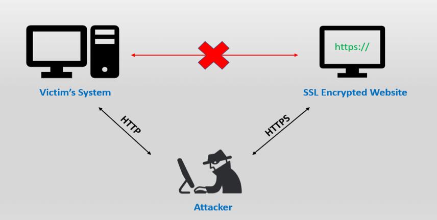 Ataques de SSL STRIPPING