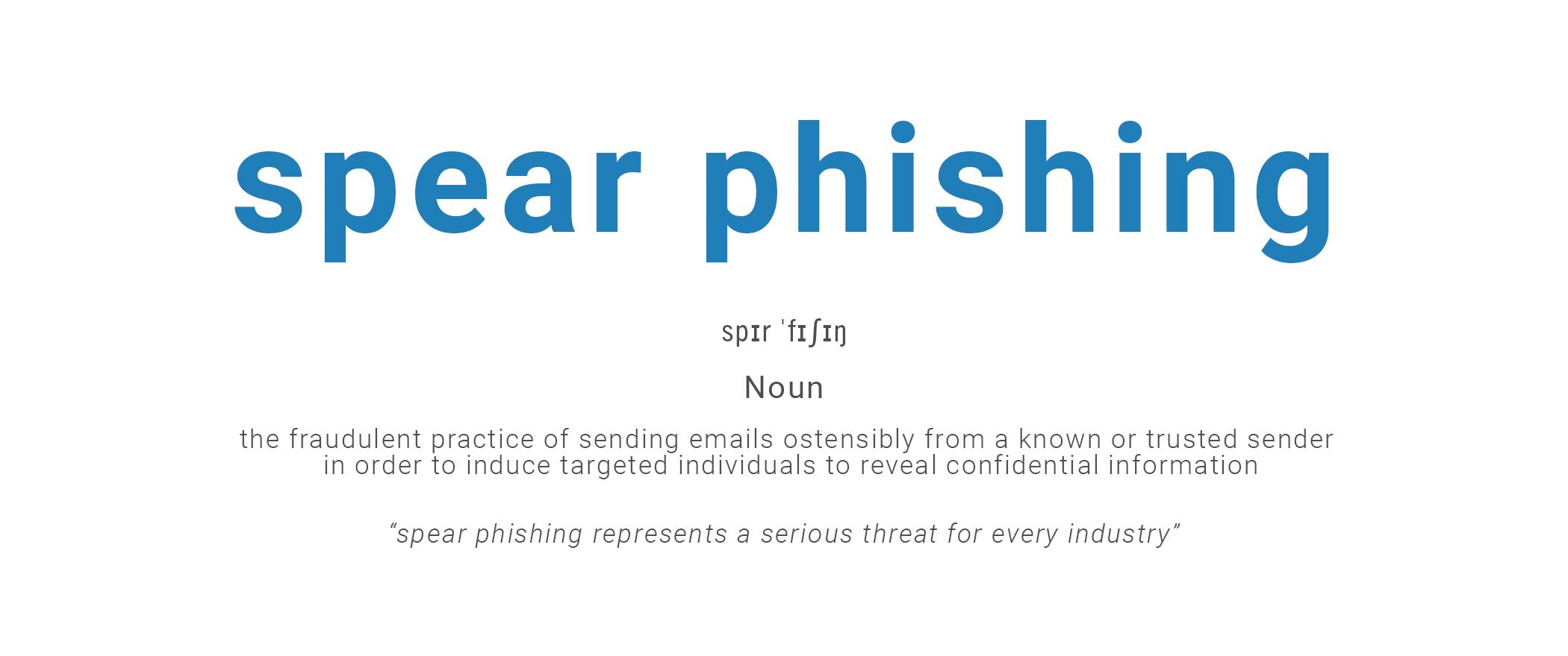 Que son los ataques de Spear Phishing