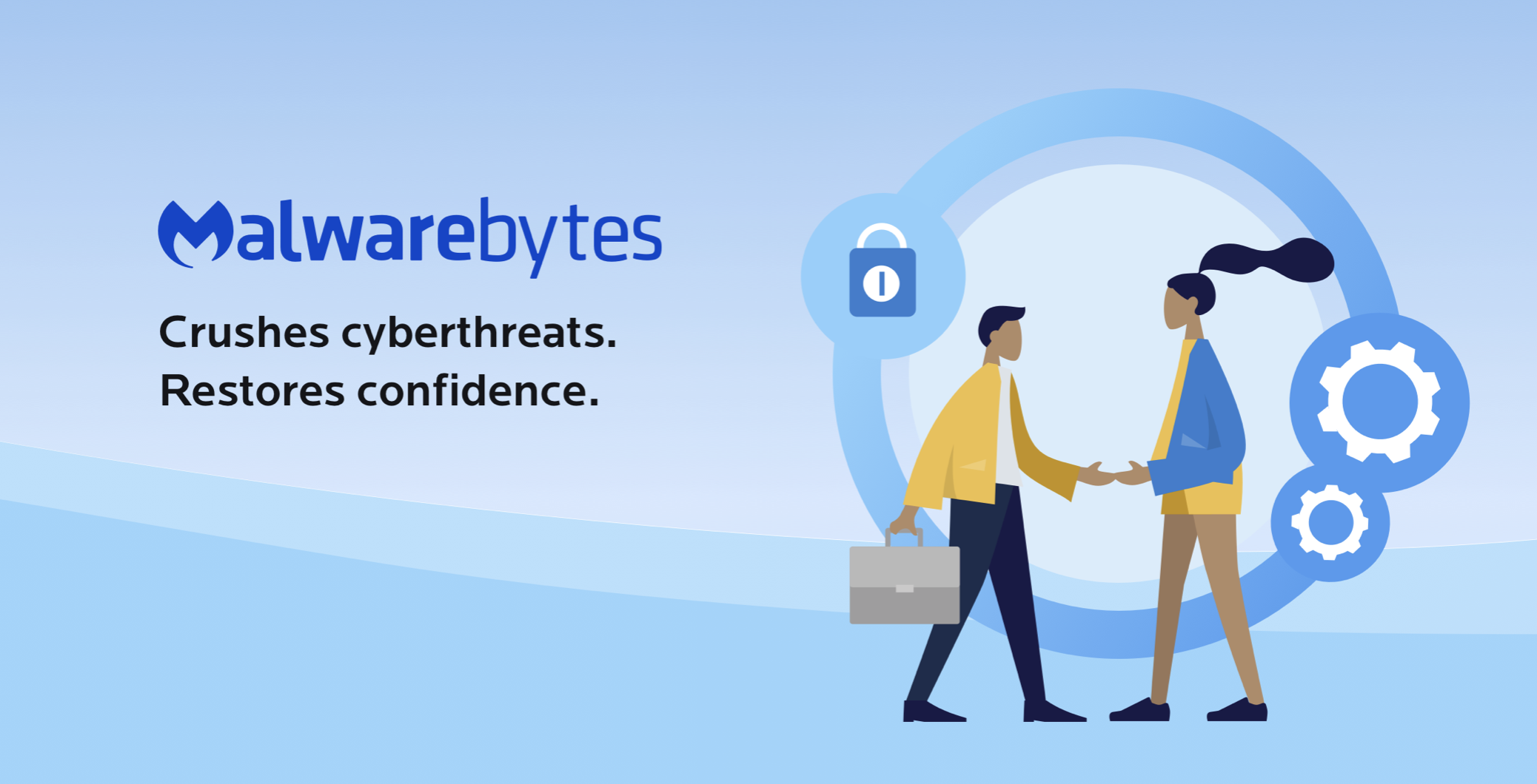 Consola de análisis de amenazas de Malwarebytes