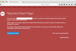 Stio web comprometido con Firefox
