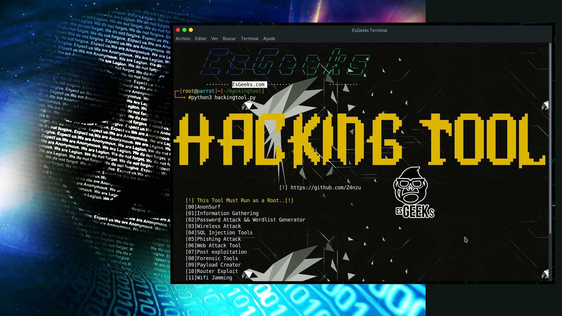 Herramientas de Hacking