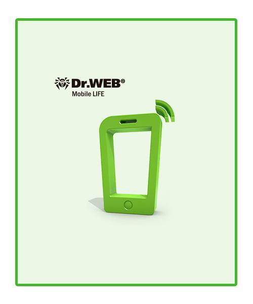 Dr Web Life Mobile para protección de dispositivos Android